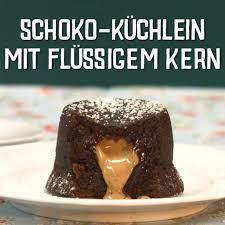Kuchen Mit Flã Ssigem Kern Schokok Chlein Mit Fl Ssigem Kern Easy Cake Recipes