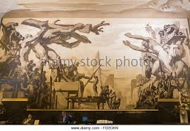 Diego Rivera Rockefeller Mural by 100 Stalinist Mural Diego Rivera Rockefeller Center Diego