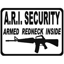 100 Redneck Truck Stickers Armed Assault Rifle Sticker Car Decals And Vinyl
