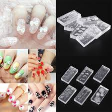 100 Nail Art 2011 3D Acrylic Mold For Decorations DIY Design Silicone