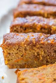 Carrot Apple Bread Carrot cake with apples added and baked as a bread so it s