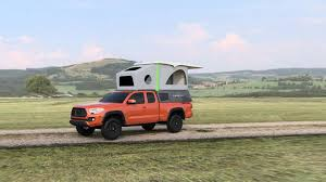 100 Pop Up Truck Camper Leentu Converts Toyota Tacoma Into A Comfy Place To Camp