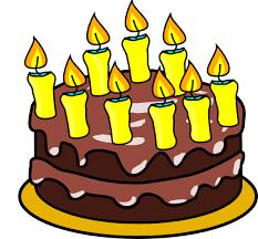 9th Birthday Cake Clip Art at Clker vector clip art online royalty free & public domain