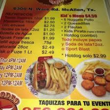 El Patio Mcallen Tx Hours by El Rodeo Taco Express 56 Photos U0026 34 Reviews Mexican 6300 N