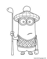 Despicable Me 2 Minions Coloring Pages Print Download