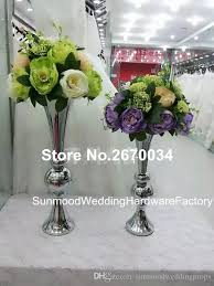 Artificial Flower Arrangements Mental Stand for Centerpiece Wedding