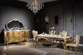 casa padrino luxus barock esszimmerstuhl set weiß gold 6 handgefertigte küchen stühle im barockstil barock esszimmer möbel edel prunkvoll