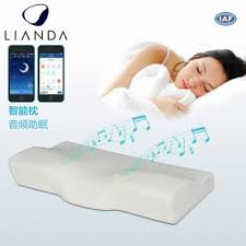 New Design Product Neck Bed Pillow With Smart Ear Hole Sleep