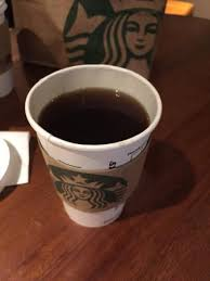 Starbucks Americano Tall But Too Much Water Been Added That Made It Taste So Watery
