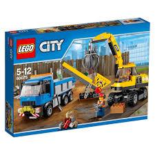 100 Lego Recycling Truck LEGO City Excavator 60075 3500 Hamleys For