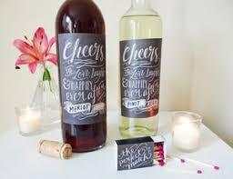 Free Printable Rustic Wedding Wine Labels