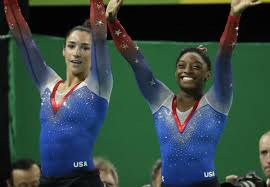 Aly Raisman Floor Routine Olympics 2016 by Simone Biles Edges Aly Raisman For Gold In Floor Exercise