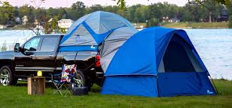 Sleep 4 More In Your Truck Tent! Napier Sportz Link Model 51000 Tent ...