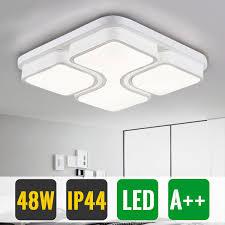 Lampwin 18W LED Ceiling Mount Light Fixture WhiteNatural White Warm White Round Flush Mount Energy Saving For Bedroom Living Room Kitchen Balcony