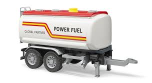 Buy Bruder - Tank Trailer With Water Pump For Trucks 03925