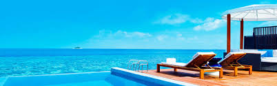 100 W Retreat And Spa Maldives Maldives Infinity Pool Slider My