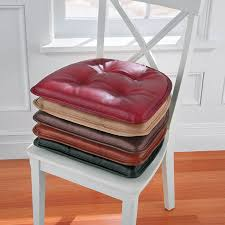 faux leather gripper chair pad improvements catalog