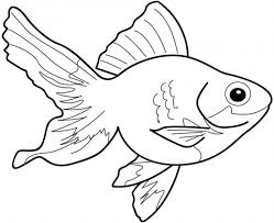 Special Fish Color Page Nice Kids Coloring Dow Unknown S Design For You Printable Pictures Of