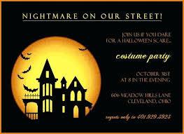 Free Halloween Invitation Templates Microsoft by Free Halloween Invitation Templates And Free Scary Halloween