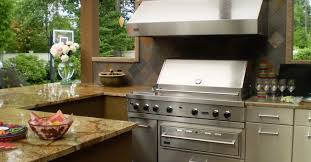Outdoor Metal Kitchen Design