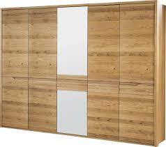 schlafzimmer schrank wildeiche massiv natur 209x255x63 cm