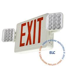 exit lights exit sign emergency light combos exit light co