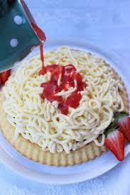 gruensteinkitchen spaghetti eis kuchen eiskuchen