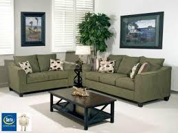 Milari Sofa Living Spaces by Serta 1225 Flyer Green Living Room Set