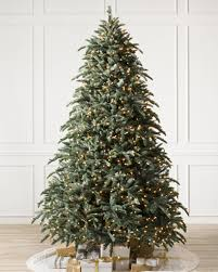 7ft Slim Led Christmas Tree by Pre Lit Christmas Trees With Clear Led Lights Balsam Hill