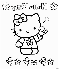 Hello Kitty Coloriage New Coloriage Hello Kitty Noël à Imprimer