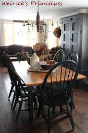 Primitive Kitchen Decorating Ideas by 315 Best Primitive And Colonial Dining Rooms Images On Pinterest