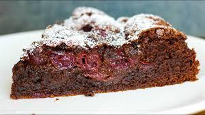 saftiger schoko kirsch kuchen schokoladenkuchen mit sauerkirschen