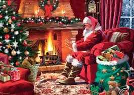 Christmas Tree Amazon Uk by Jumbo Falcon De Luxe Christmas Jigsaw Puzzles 1000 Piece Amazon