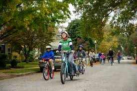 Peabody Revolutions = Fall Bike to School Day