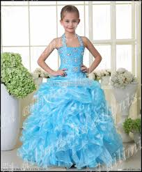 most popular kids pageant dress bridesmaid dance party