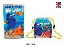 Finding Nemo Bath Set by Disney Finding Dory Kids Gym Bag U0026 Beach Towel Set Pool Bath