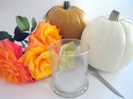 Carvable Craft Pumpkins Wholesale by Pumpkin Vase Flower Arrangement Tutorial In 5 Minutes Or Less
