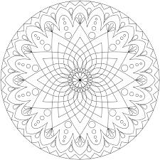 Coloring Pages Printable Mandala And Free