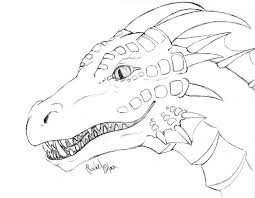 Dragon Coloring Pages Printable 07