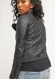 edgy winter coats be edgy hanna leather jacket black women