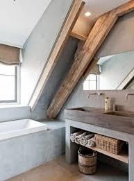 beton im bad badezimmerfarbe badezimmer dachgeschoss