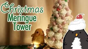 Christmas Tree Meringues by Meringue Tower Diy Kit Christmas Collab With Paperpastels Youtube