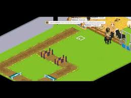 comment monter sur un cheval sur habbo rabbo