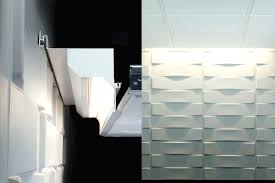wall slot lighting mounted profile built in led modular systems