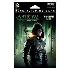 dc comics arrow crossover pack 2 deck building game target