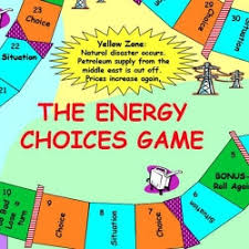 Energy Choices Board Game