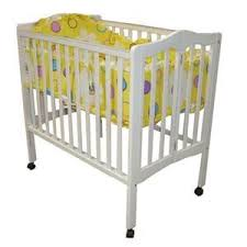 Wooden Folding Crib Portable Crib Cot Baby Bed id Product