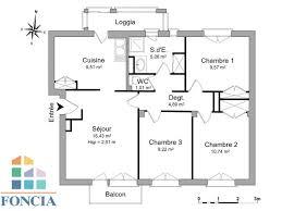 appartement 4 chambres appartement 4 pièces à louer pau 64000 66 43 m2 foncia