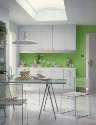 KitchenTerrific Green Kitchen Backsplash Design Ideas Under Minimalist White Cabinet Also Small Dining Area