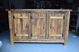 Image Of Reclaimed Wood Sideboard Rustic